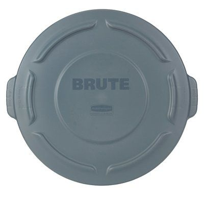 Rubbermaid Commercial Products Brute 20 Gallon Plastic Garbage Can Lid Rubbermaid Commercial Products Can Lids Rubbermaid