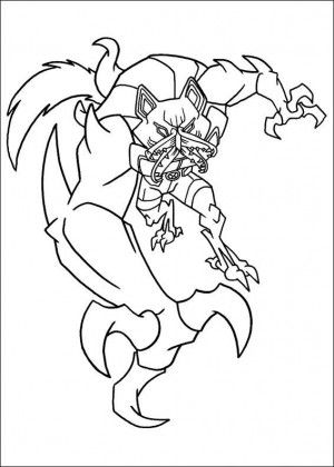 Ben 10 Coloring Page 48 Coloring Pages Cartoon Coloring Pages