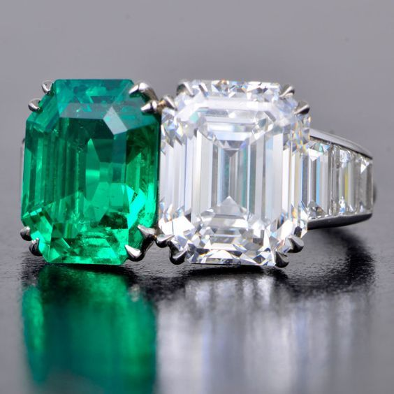 Cartier Art Deco Toi Et Moi You And Me Two Stone