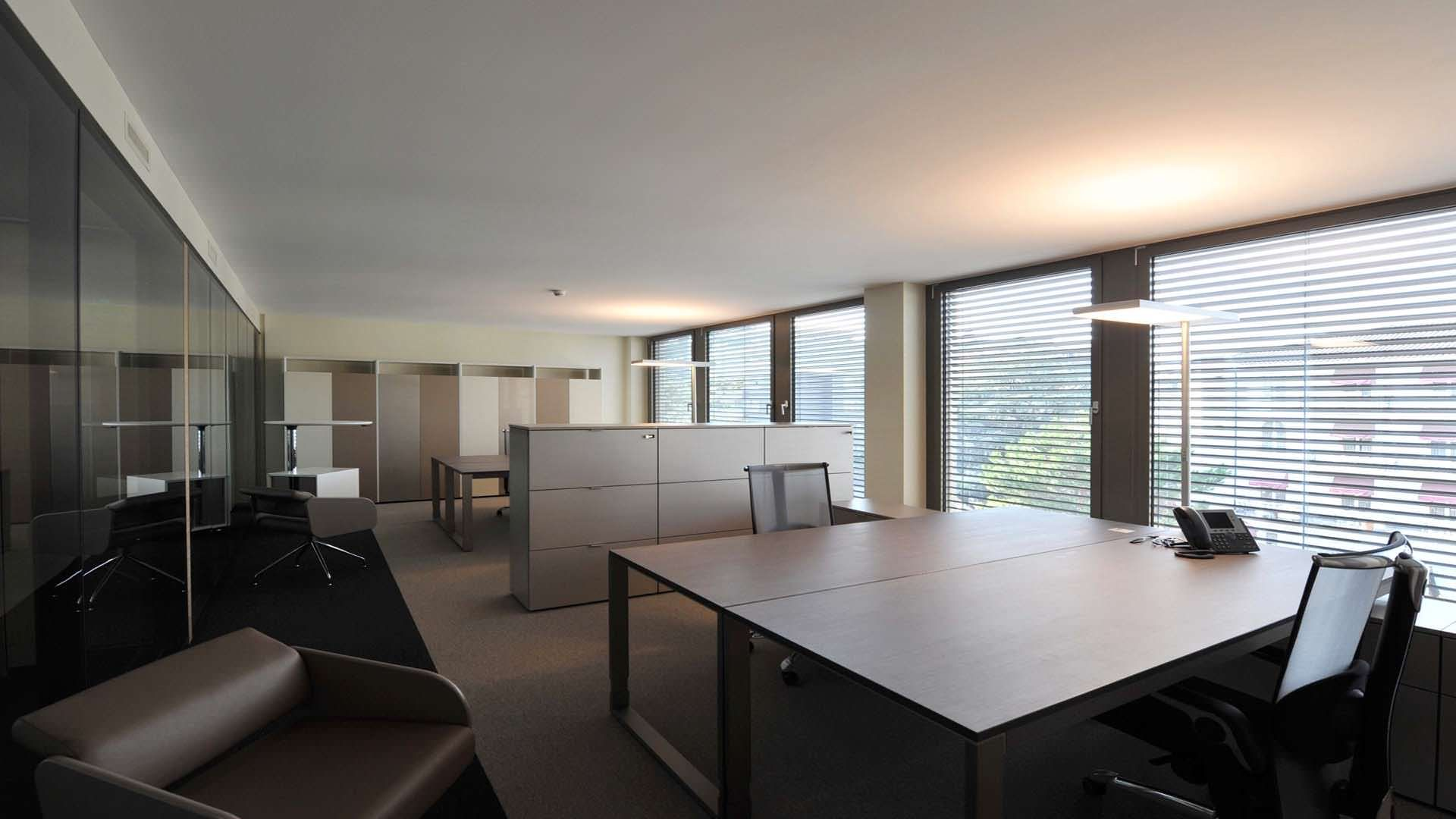 Swiss bureau interior design designed federation equestre
