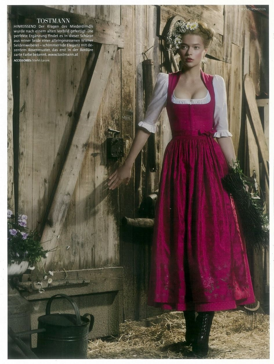 The Miller's Daughter (Rumpelstiltskin) [Lodenfrey for Vogue Deutsch]