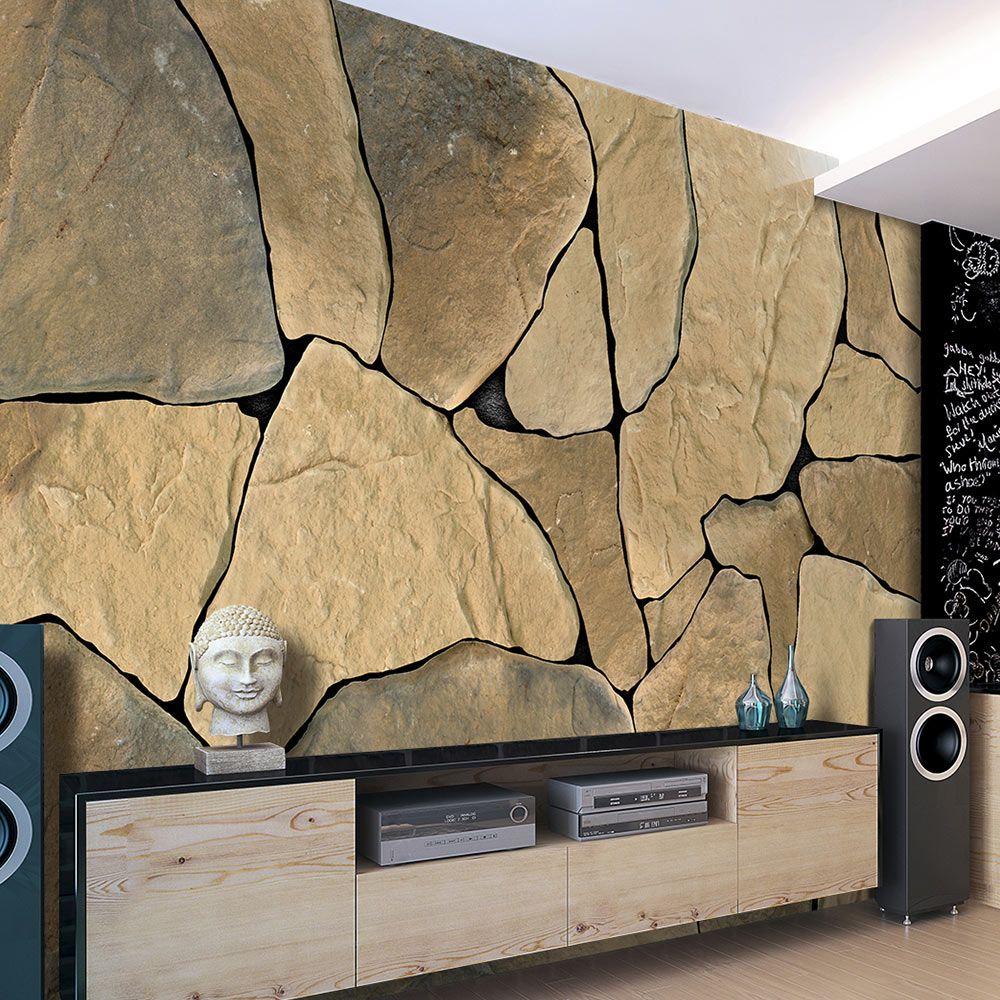 Fototapeta kamenná zeď   obývák   Pinterest