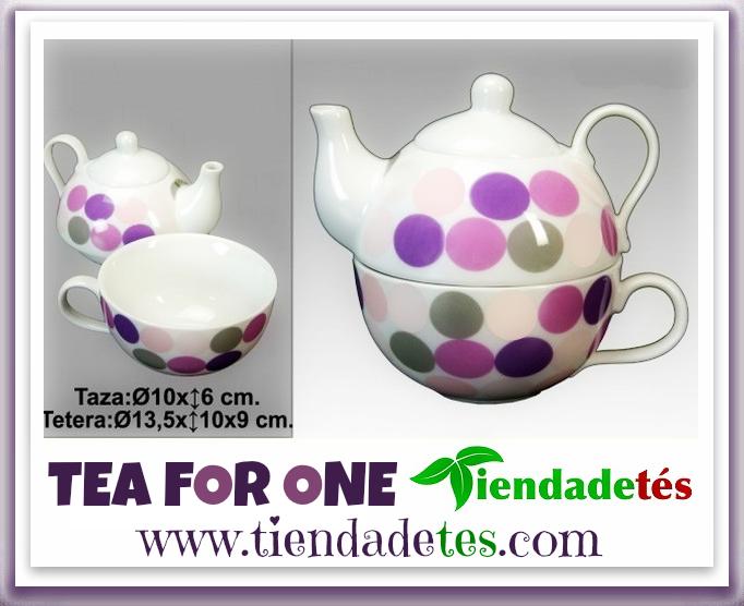 ¿Buscas el regalo perfecto? ¡¡En http://www.tiendadetes.com/tienda-de-tea-for-one/1492-comprar-tea-for-one-lunares-morados.html lo tienes!! ¡¡Tea for One de original diseño con lunares morados!! #FelizMartes #Té #Tea #TeaTime #Relax #Te #Tes #Infusiones #AccesoriosTé #TeaForOne #Tetera #Teteras #TeteraCerámica #Teterías