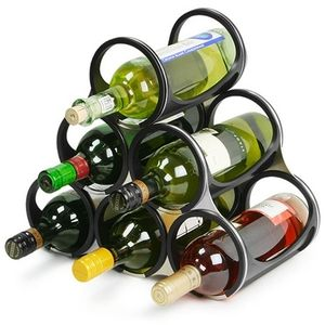 Vacu Vin Wine Rack Flexible 6 Bottle 1882350 Black $53.99    http://www.ehappyhome.com/servlet/the-9470/Vacu-Vin-Wine-Rack/Detail