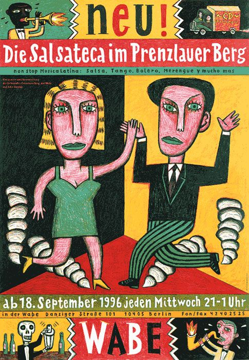Photo of Salsateca – Plakat – Wagenbreth