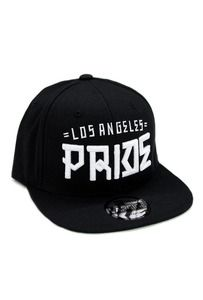 06b781bc994 Los Angeles PrideLos Angeles Pride SnapbackBlack HatGreen  Underbill(Adjustable Sizes) J-Dog wears this hat!!