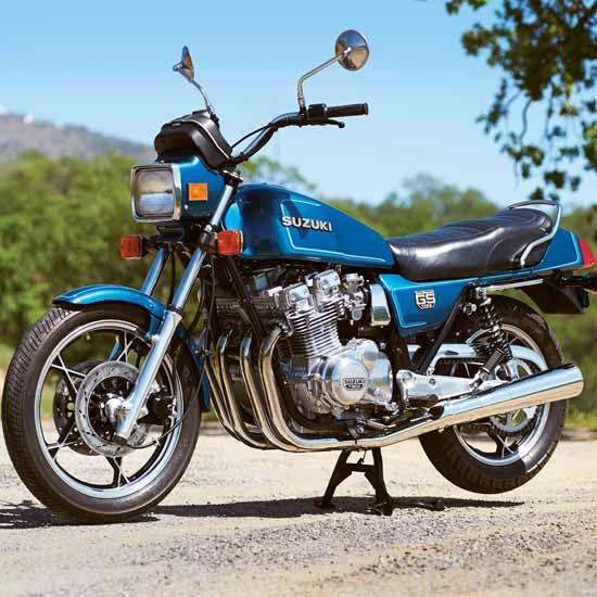 Luck Of The Draw 1981 Suzuki Gs1100ex Classic Japanese