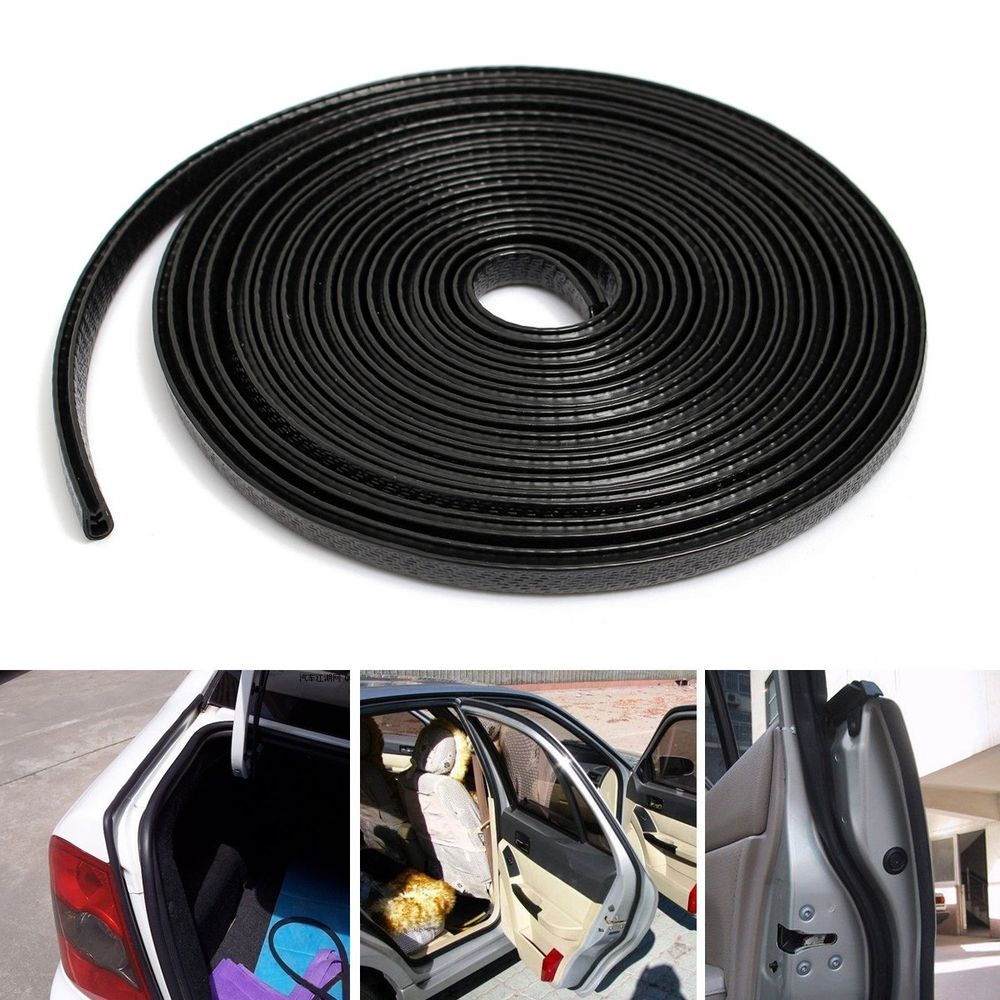 3m Long Rubber Seal Ring Strip Edge Protector Anti-scratch U Type for Door