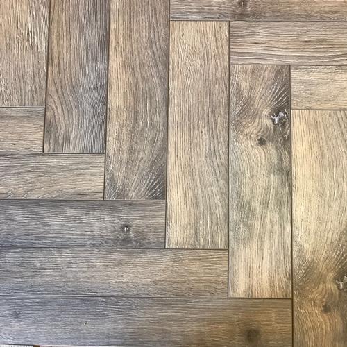 Richmond Grey Oak Herringbone Parquet Laminate Flooring