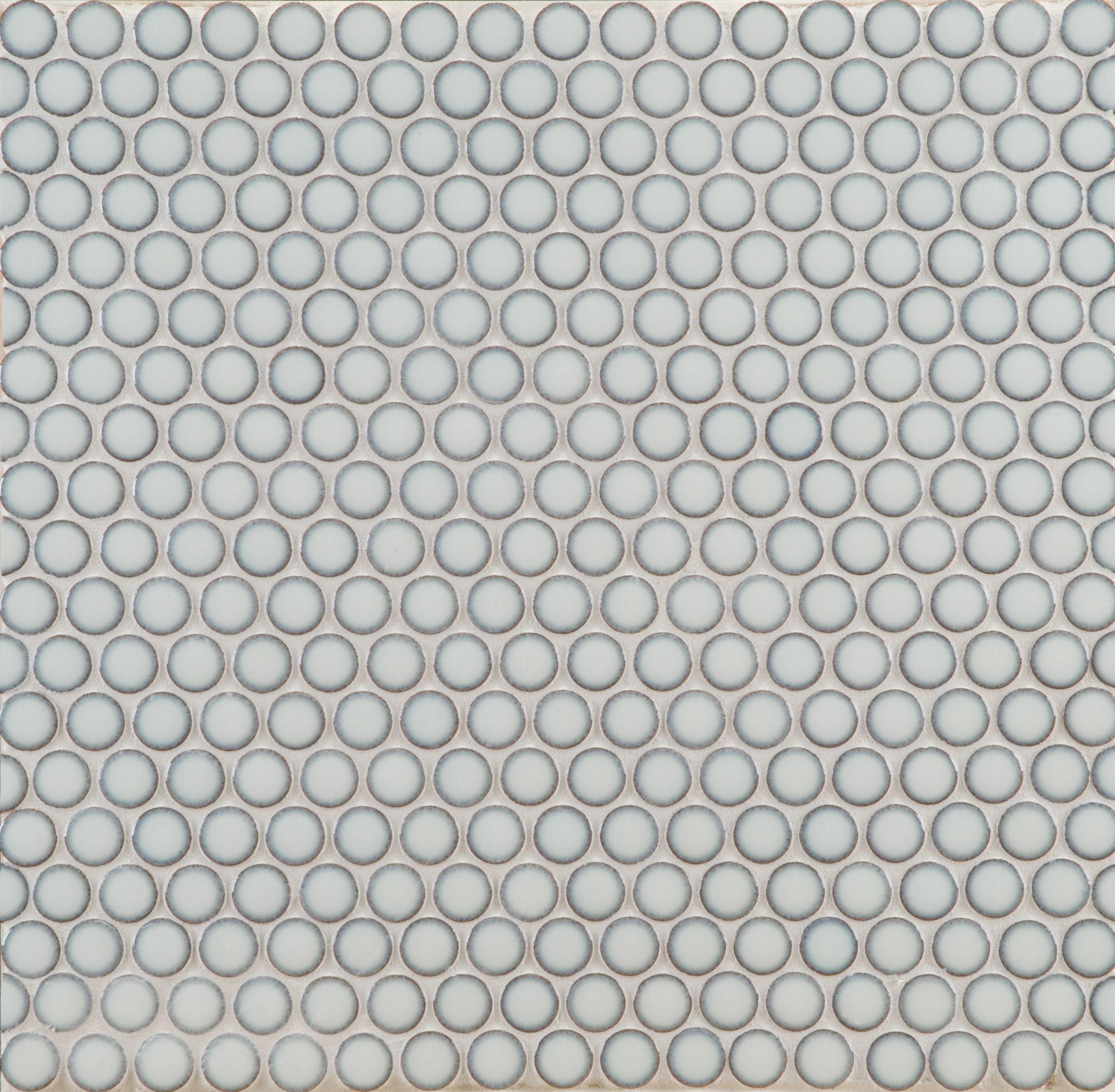 Ann Sacks Savoy Penny Round Ceramic