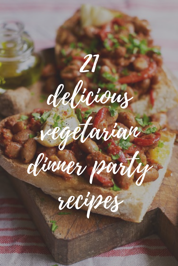 Vegetarian Dinner Party Recipes Ideas Part - 48: Hosting A Vegetarian Dinner Party? These Delicious Vegetarian Recipes Cover  Everything From Vegetarian Starters To