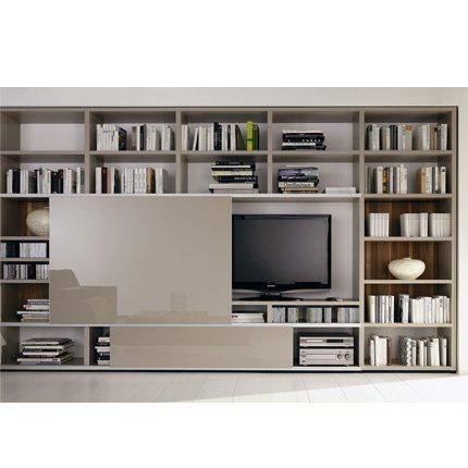 Bibliothèque Mega Design - Hülsta | Bibliotheque tv, Tv et Menuiserie