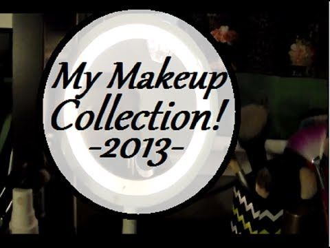 My Makeup Collection 2013