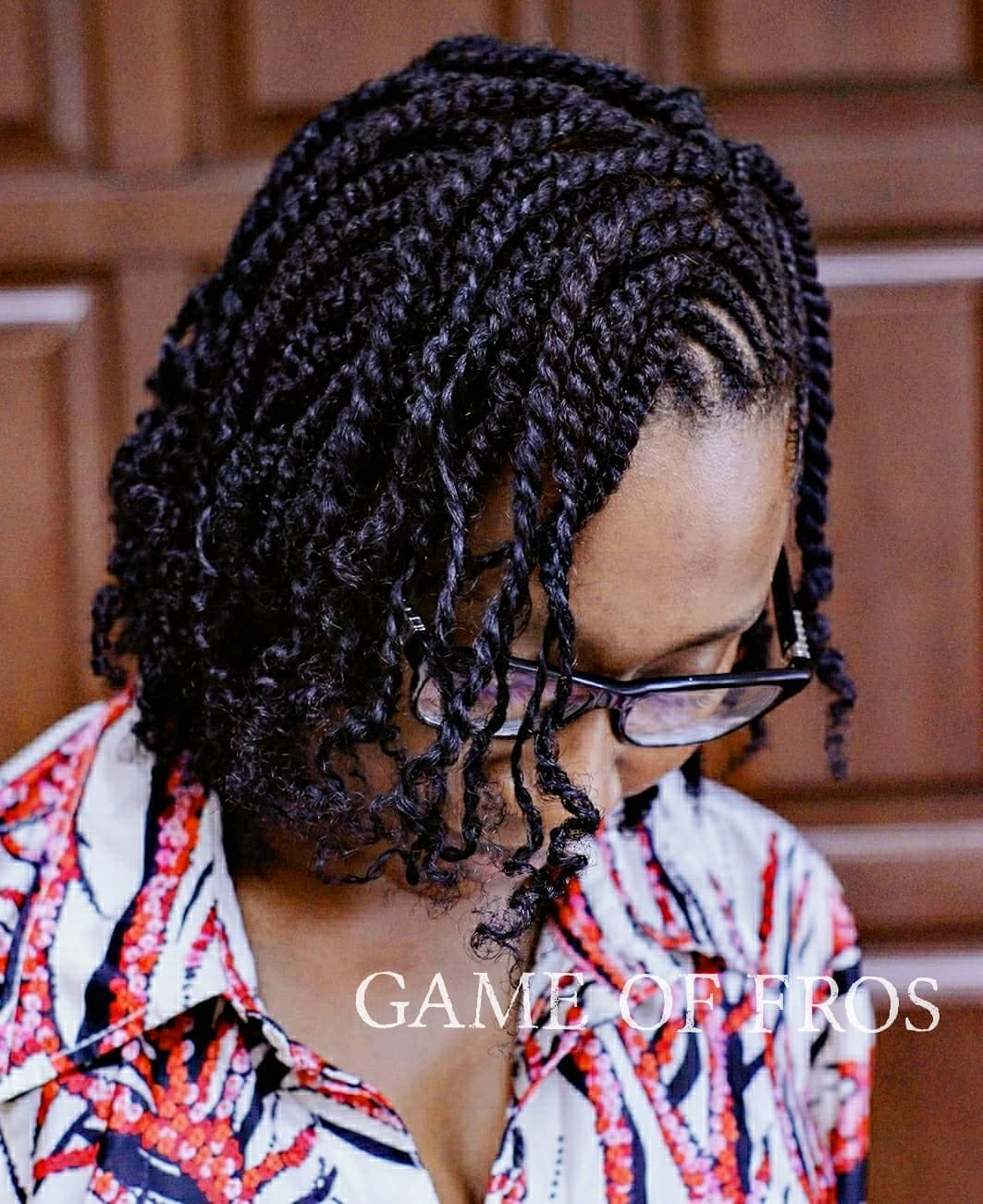 Delicious Cornrows Two Strand Twists No Added Hair