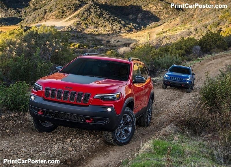 Jeep Cherokee 2019 Poster Coches Y Motocicletas Autos Mexico Coches