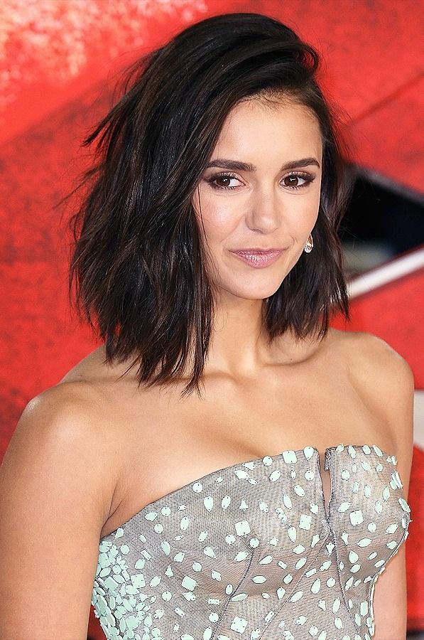 See the Moment Nina Dobrev Gets Her Hair Chopped Off in 2019 ... da0d9e075327