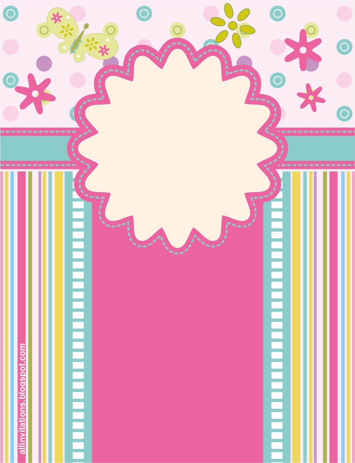 Fondos y marcos para baby shower - Imagui | imagenes | Pinterest ...