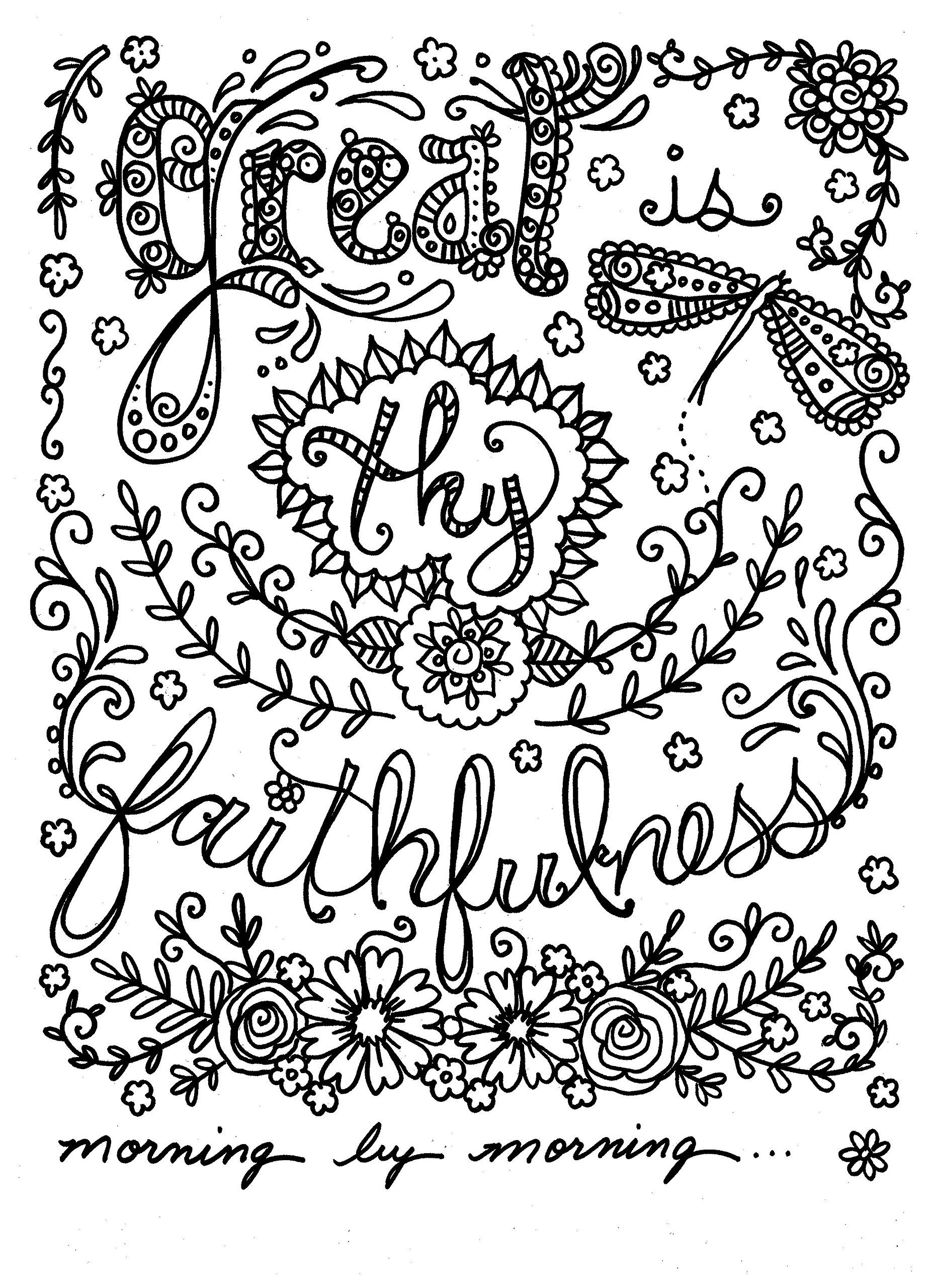 bible coloring pages for adults - 736×1012
