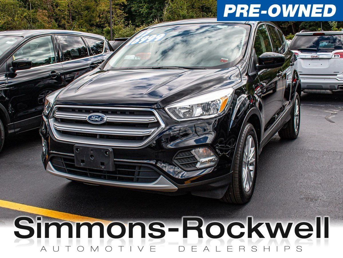 Simmons Rockwell Used >> Used 2017 Ford Escape From Simmons Rockwell In Elmira Ny