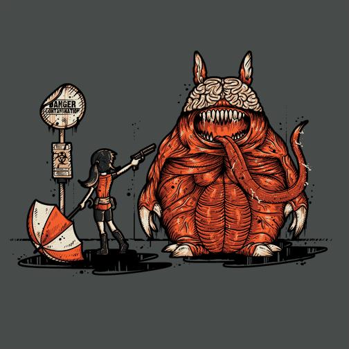 My Neighbor Totoro - Resident Evil - My Evil Neighbor