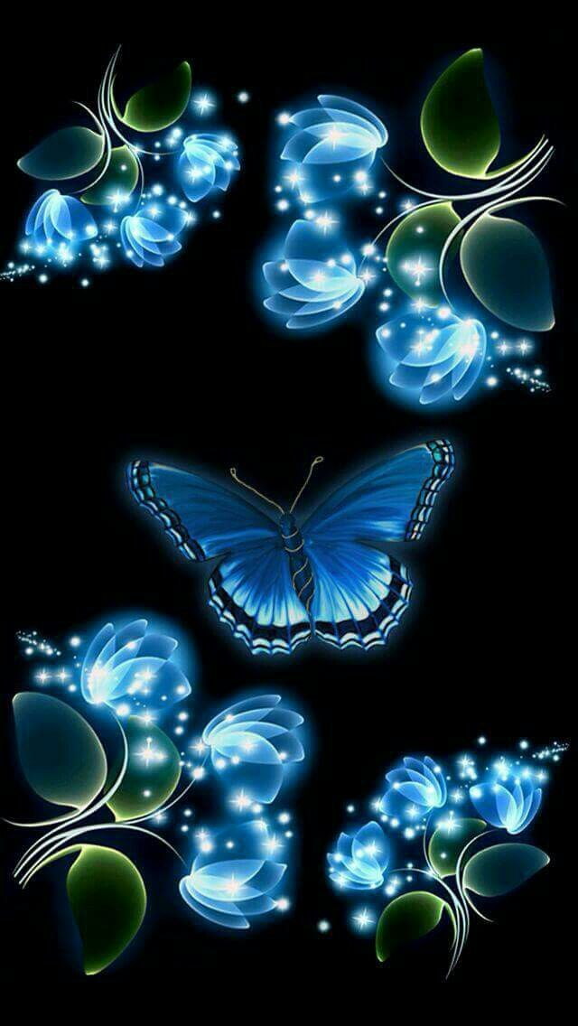 Home Screen Galaxy Butterfly Wallpaper