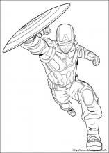 captain america civil war coloring pages on coloring bookinfo - Captain America Pictures To Color