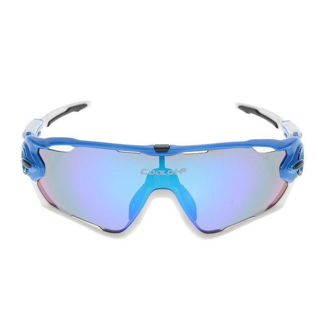 42807ee1e2 Polarized UV Protection Cycling Sunglasses Bicycle Bike Sports Sun Glasses  Goggles with 4 Interchangeable Lenses Unbreakable