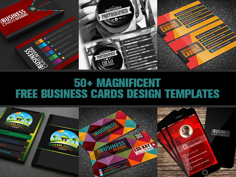 50 magnificent free business cards design templates graphic goo 50 magnificent free business cards design templates graphic goo fbccfo Choice Image