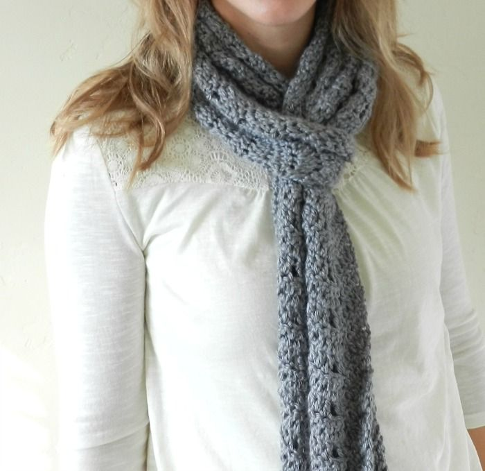 Grow Creative Blog: Crochet Chevron Scarf Pattern | crochet scarfs ...