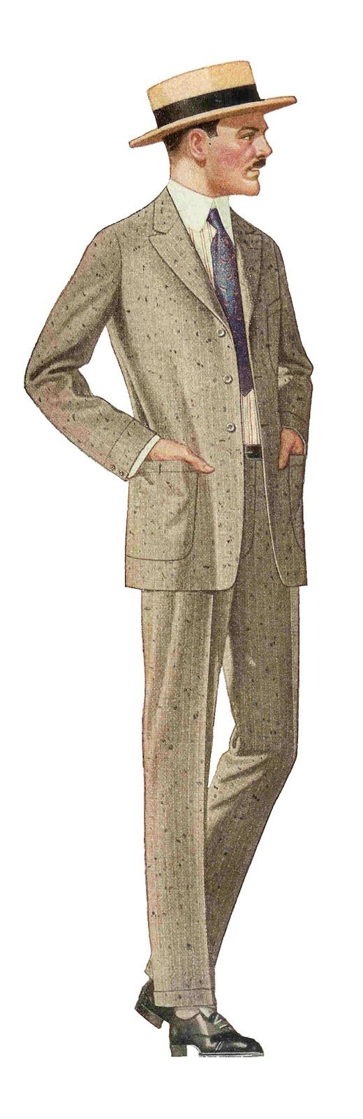 mens vintage clothing 1920s