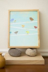 birdies! -  prints available at childreninspiredesign