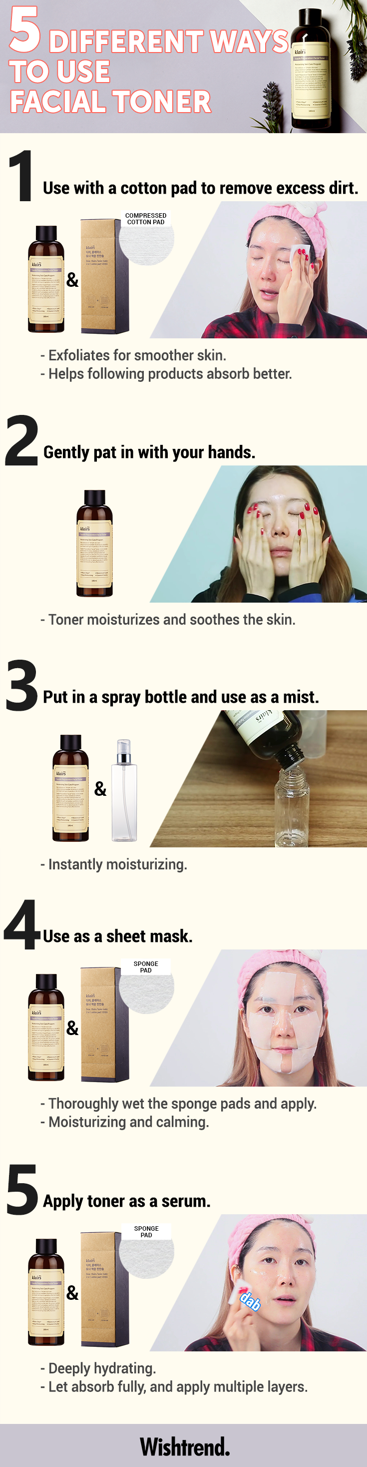 5 Different Ways To Use Facial Toner From Exfoliating To Adding Instant Deep Hydration To The Skin Here Are Our In 2020 Skin Care Skin Care Secrets Makeup Skin Care