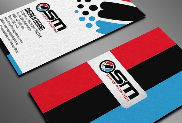 Osm Spray Painting Business Card Print