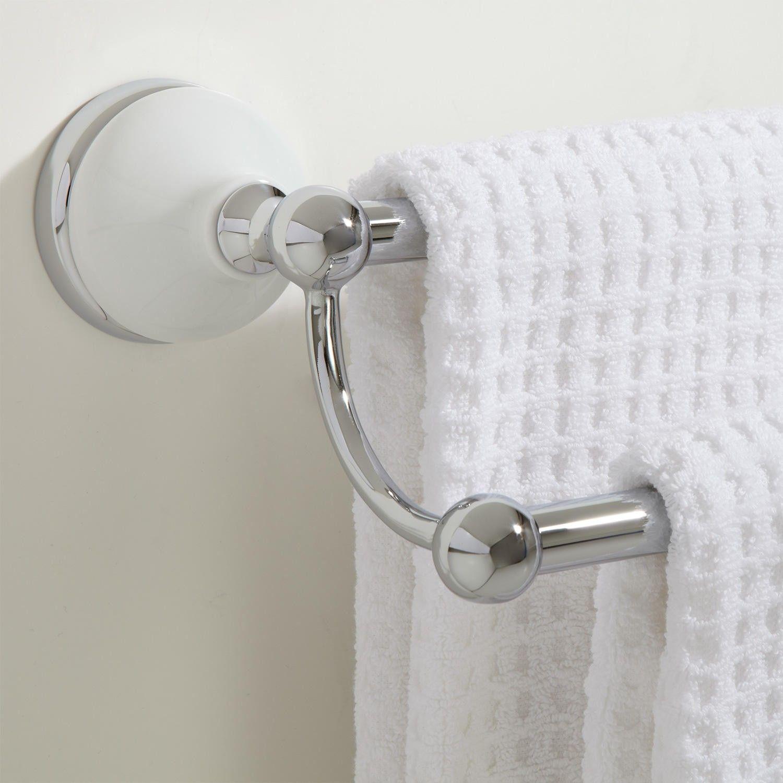 Houston Double Towel Bar Holders Bathroom Accessories