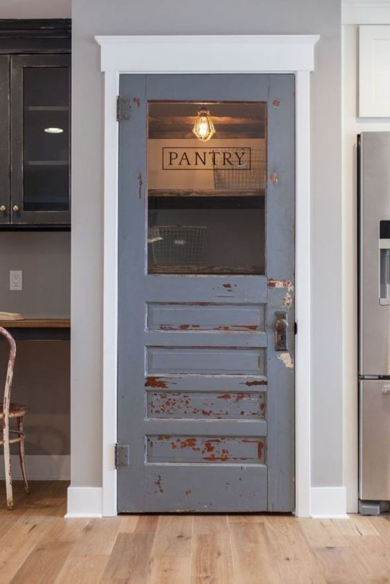Why A Cool Pantry Door Is The Secret Ingredient To A Cool Kitchen Fascinating Cool Kitchen Designs Design Decoration