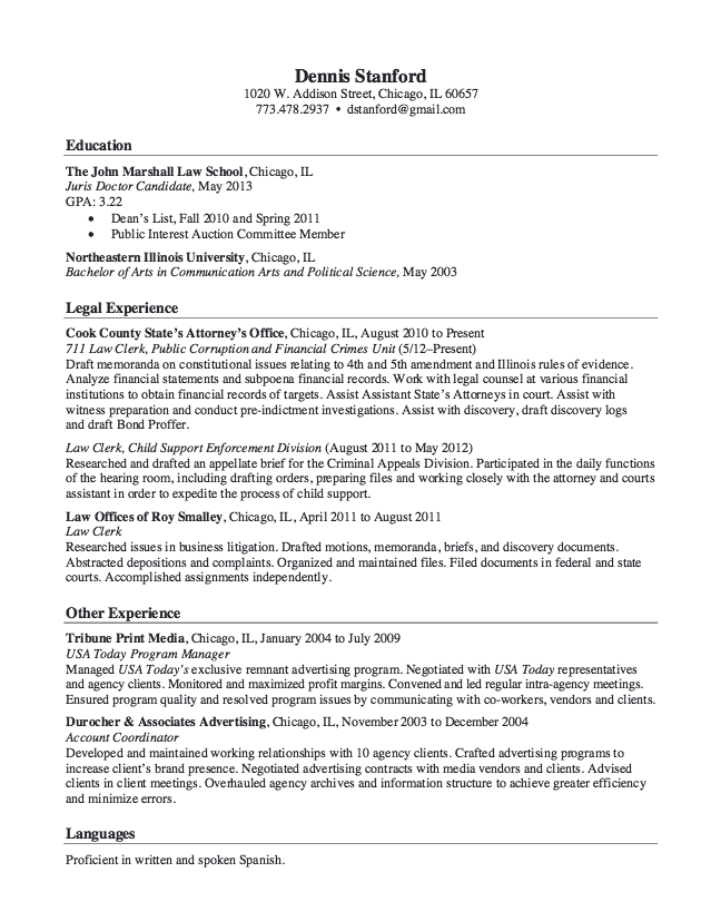Resume Format Usa Law Officer Resume Sample  Httpresumesdesignlawofficer