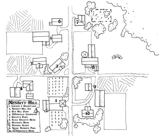 Map, Village Map, Fantasy Map