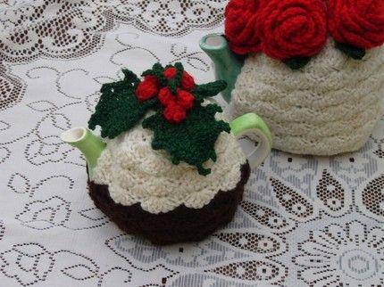 Teapot Cozy Mug Snug 2 Cup Crochet Christmas Pudding Tea Cosy By Andrealesleycrochet Craft Juice Tea Cosy Crochet Tea Cozy Tea Cozy Crochet Pattern