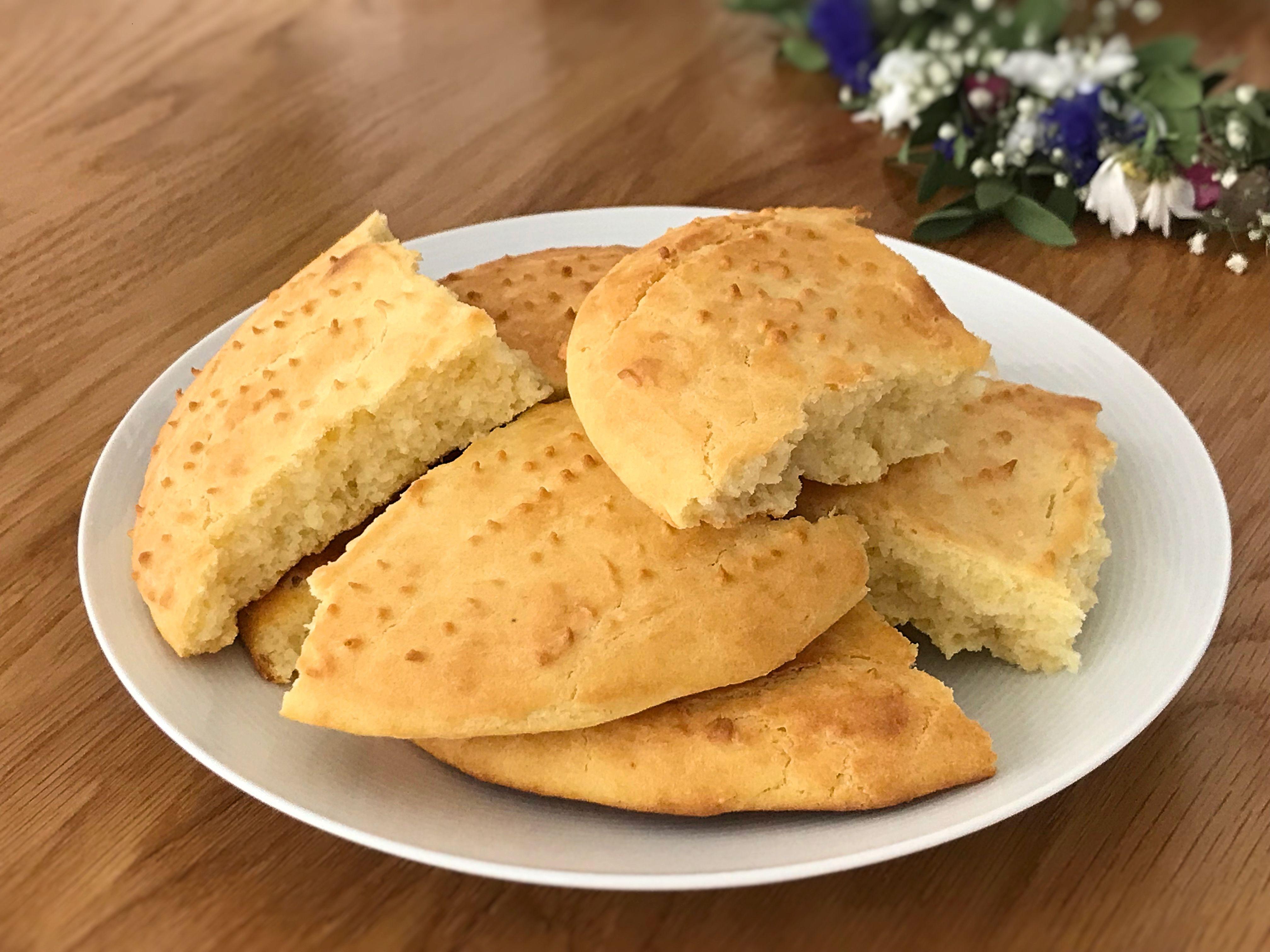 glutenfria kakor med majsmjöl