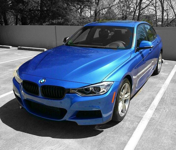 Bmw 335i M Sport: 14 BMW 335i M Sport In Astoria Blue.