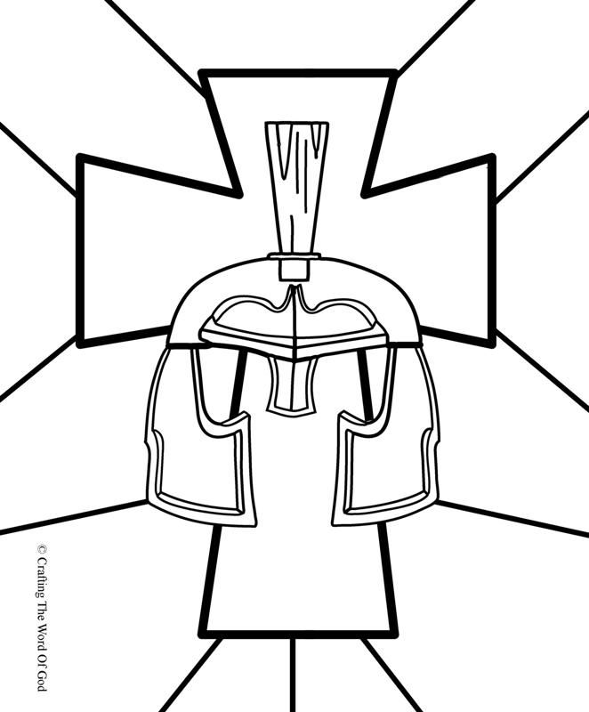 Great coloring pages for all the armor of God | Bible story ...