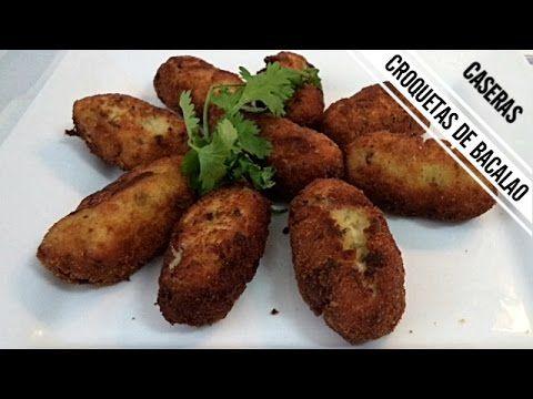 Croquetas de Bacalao y Patatas | Receta de Cocina en Familia - YouTube