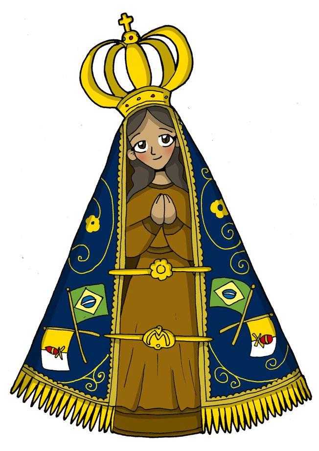 Patrona de Brasil  Fiesta: 12 de octubre            La historia cuenta que a mediados de 1717 dos pescadores se encontraban en el río Parai...