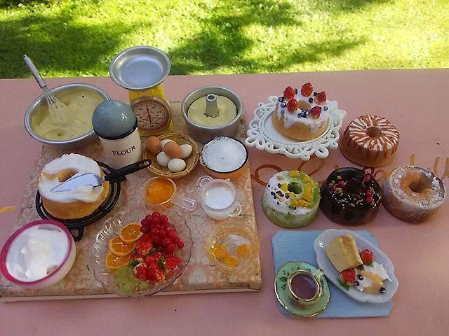 シフォンケーキ作りセット🍰❤#ミニチュア #ドールハウス #ケーキ #シフォンケーキ #フェイクスイーツ  #スイーツデコ #スイーツ #ケーキ屋さん  #フルーツ #カフェ #ケーキ作り #お菓子 #お菓子作り #ミンネに出品中  #ミンネに出品中takakoleo072で検索お願い致します❗✨❤❤ #miniature #miniatures  #doll #cake #cafe #crafts #japon #JAPAN #sweet  #lunch' #fruits