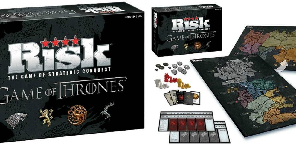 All Men Must Play This Game Of Thrones Edition Of The Board Game Risk