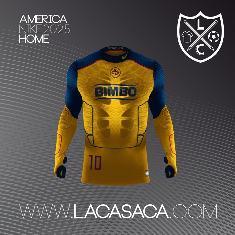 Nike 2025 Fantasy Kits - América Home  18a3060969a