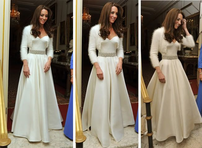 I Like This Whole Look (Kateu0027s Reception Dress)