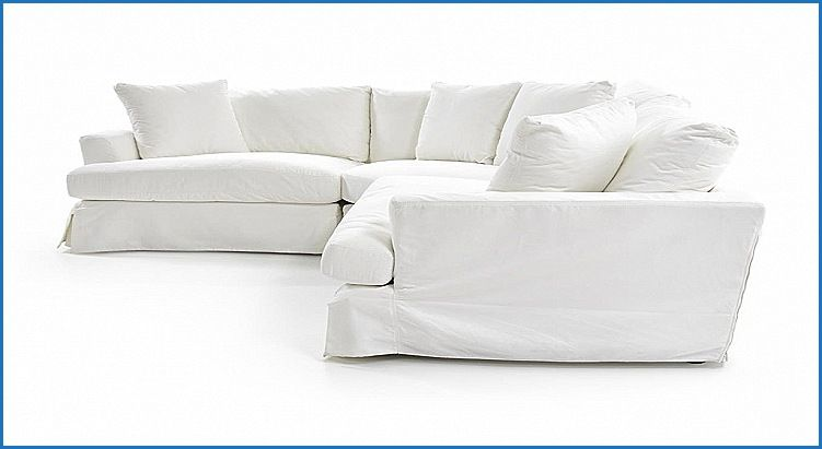 Unique Synergy Slipcover Sectional Sofa Furniture