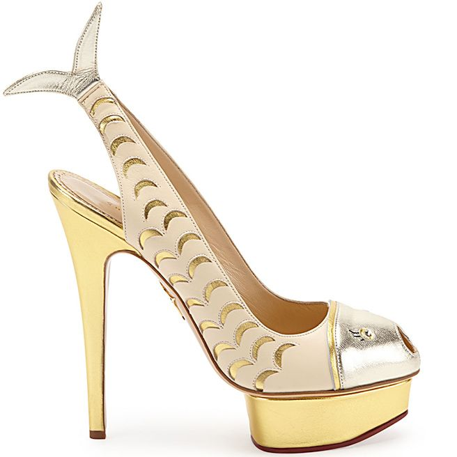 Charlotte-Olympia-Catch-Of-The-Day. As a Pisces girl, I sooo love these hot heels by Charlotte Olympia! #charlotteolympia