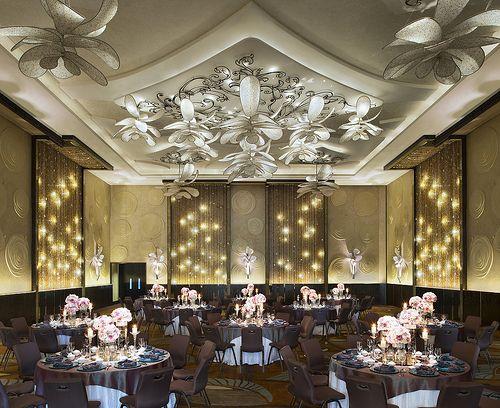W Singapore Sentosa Cove Great Room Wedding Hotel Ballroom Light Decorations Wedding Show